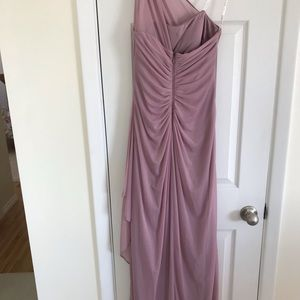 Woman's long Bridesmaid dress